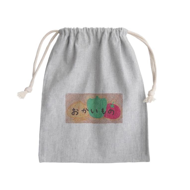 tsukukoのおかいものバッグ Kinchaku