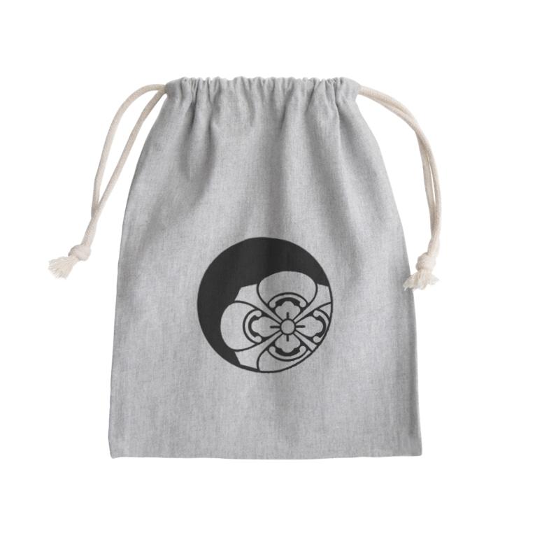 fujijumのひょっこり剣木瓜 Kinchaku