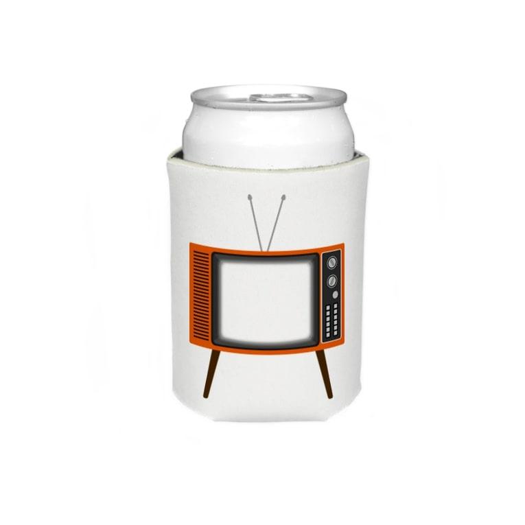 illust_designs_labのレトロな昭和の可愛いテレビのイラスト 画面オン 脚付き  Koozies
