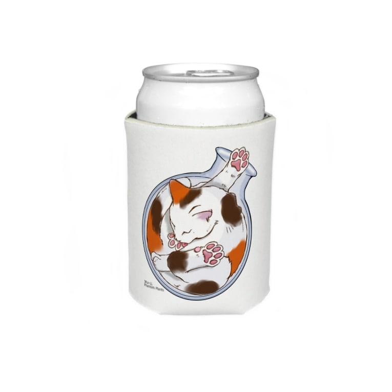 Phantom Plants shopの猫は液体 Koozies
