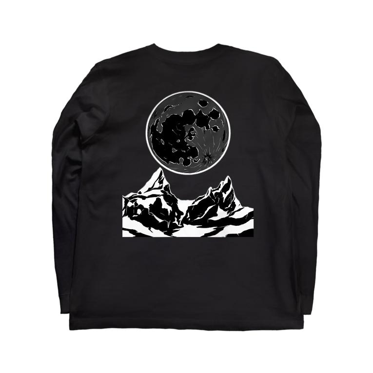 leaf【MOON】のdarkmoon Long sleeve T-shirts