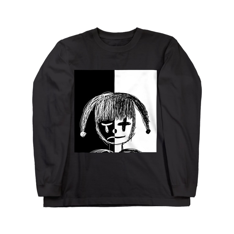 _Midori_のPiero/ピエロ Long sleeve T-shirts