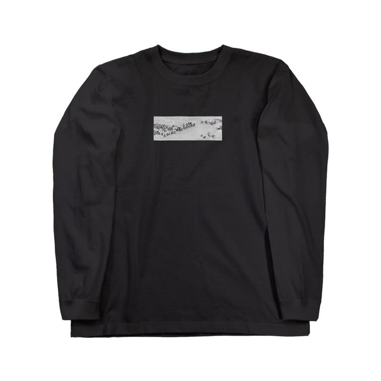RIP_STOREの合戦 Long sleeve T-shirts