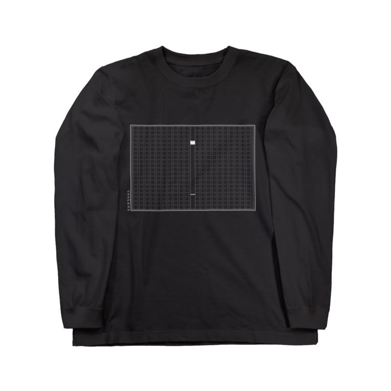 cooLunaの原稿用紙 ~ 白 ~ Long sleeve T-shirts