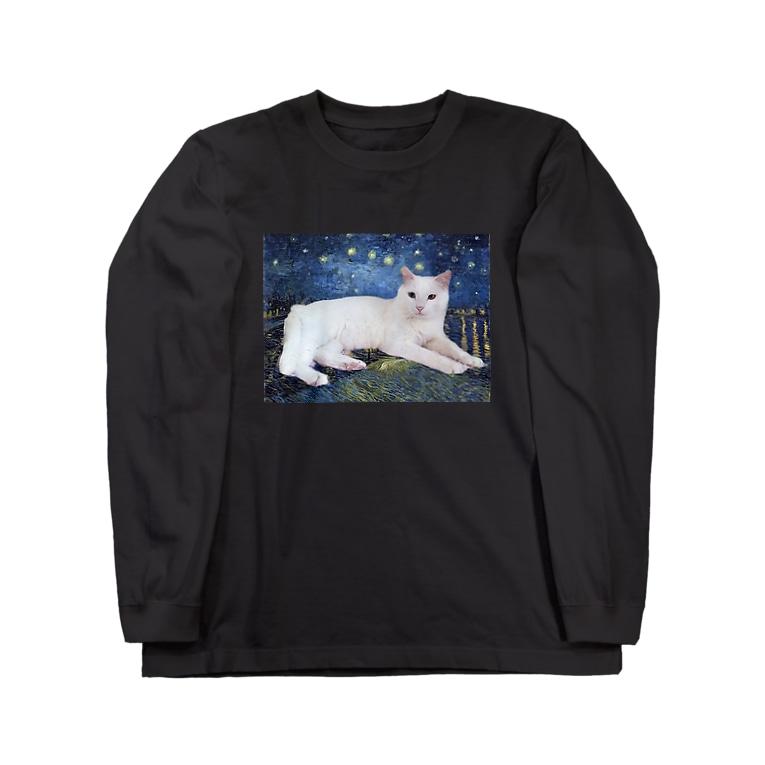 tinamagicalのshiro Long sleeve T-shirts