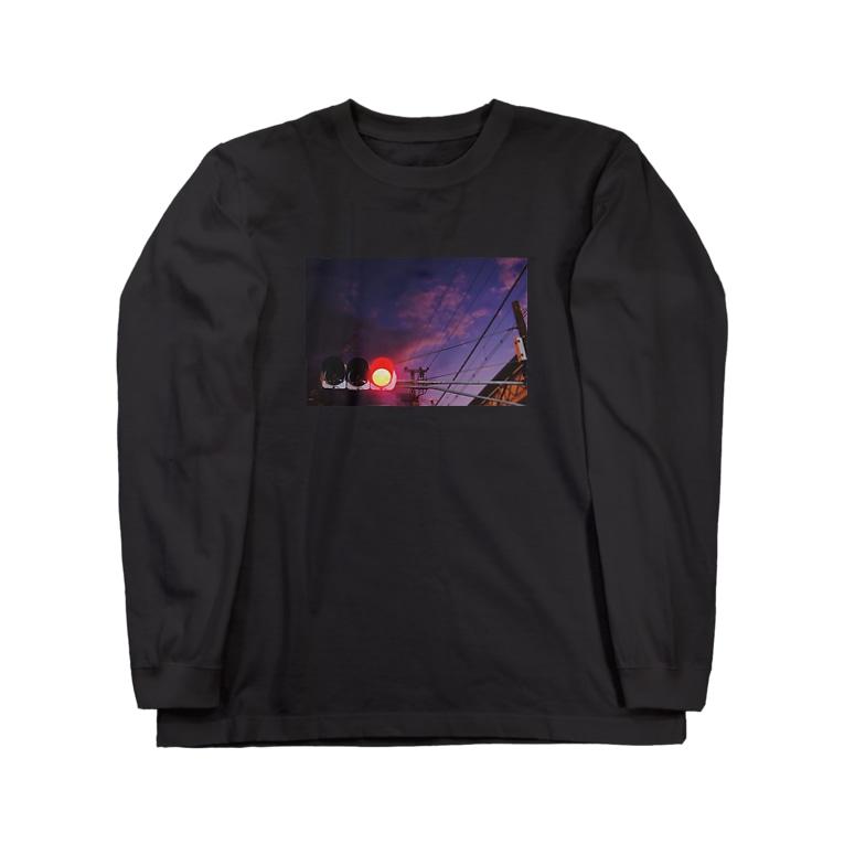 cozcozの信号機 Long sleeve T-shirts