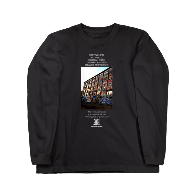 FreshBMajorの5Poinz Long sleeve T-shirts