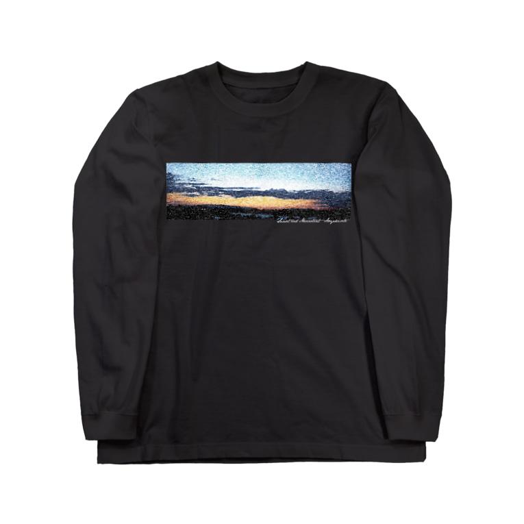 AOYAKEのSunset and Mezzotint Long sleeve T-shirts