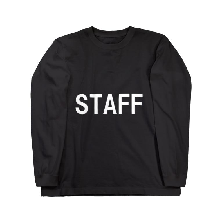 HYオンラインのSTAFF 白 Long sleeve T-shirts