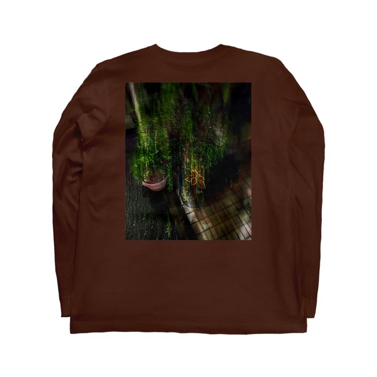 Namidash tilde【~】のgreen g Long sleeve T-shirtsの裏面