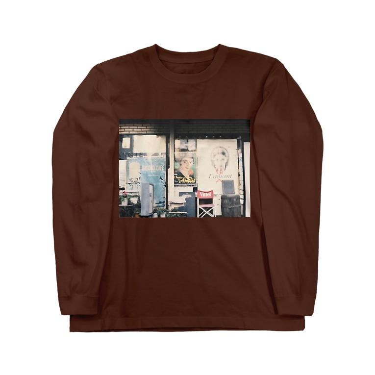 aitaryoの理髪店 Long sleeve T-shirts