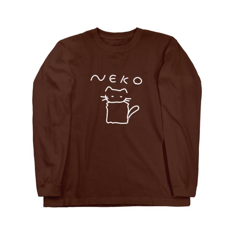 occultclubのNeko Long sleeve T-shirts