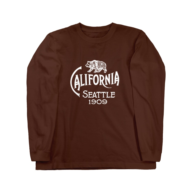 Bunny Robber GRPCのAlaska Yukon Pacific Exposition_WHT Long sleeve T-shirts