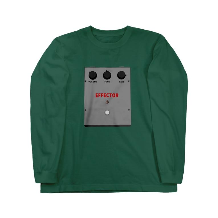 musicshop BOBのエフェクター - EFFECTOR Long sleeve T-shirts