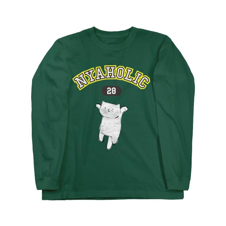 nanaqsaのにゃっほり Long sleeve T-shirts