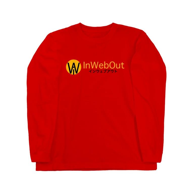 インウェブアウトオンラインストアのインウェブアウトロゴ Long sleeve T-shirts