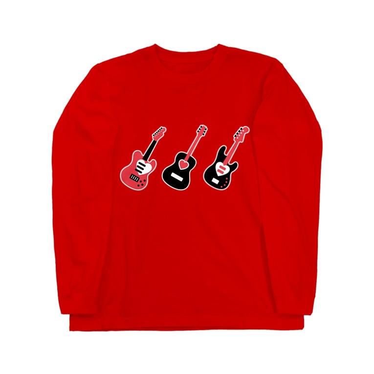 mickeのguitar Long sleeve T-shirts