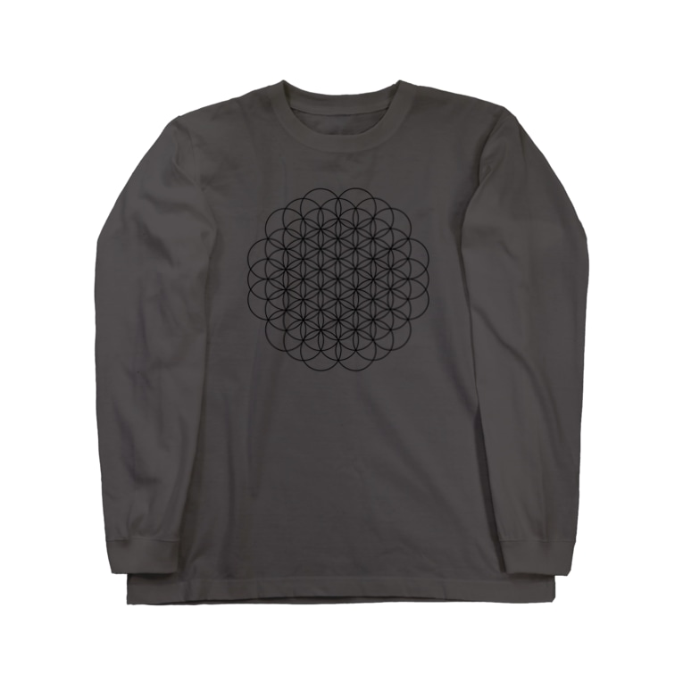 A2C COLLECTIONのFlower of life Long sleeve T-shirts