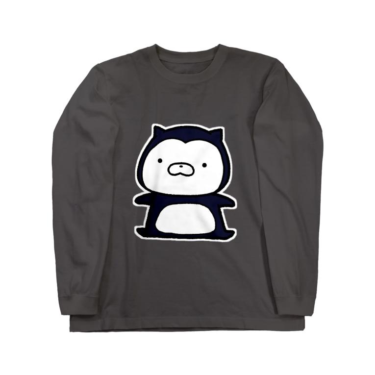 SUZURI×ヤマーフのムーネフ Long sleeve T-shirts