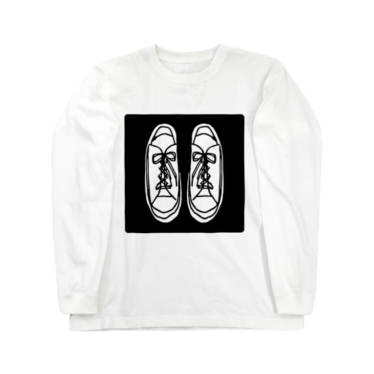 sneakers ロングスリーブTシャツ