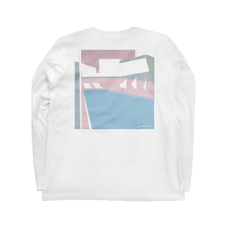 ケント・マエダヴィッチのat the pool_18:25 Long sleeve T-shirts