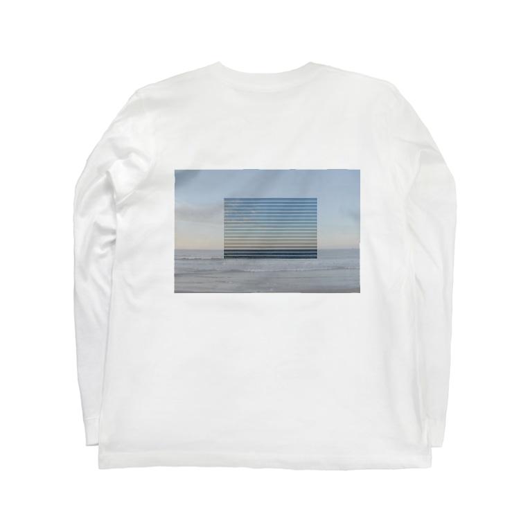 vilkkuaの朝日 と 海 Long sleeve T-shirts