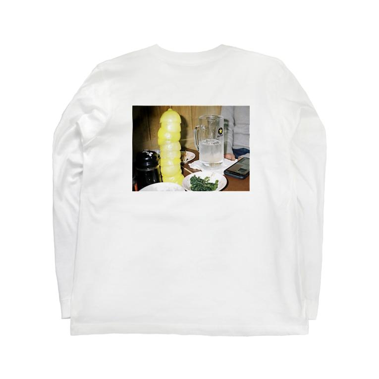 kenkaのレモンサワー Long sleeve T-shirts