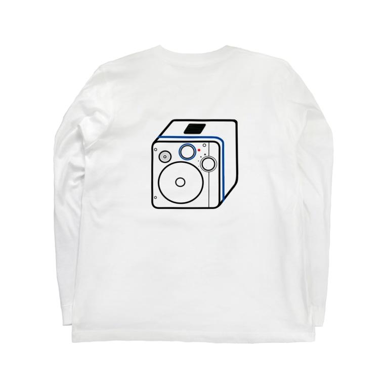 僕が着たいTシャツ屋さんの思い出のダイナモラジオ Long sleeve T-shirtsの裏面