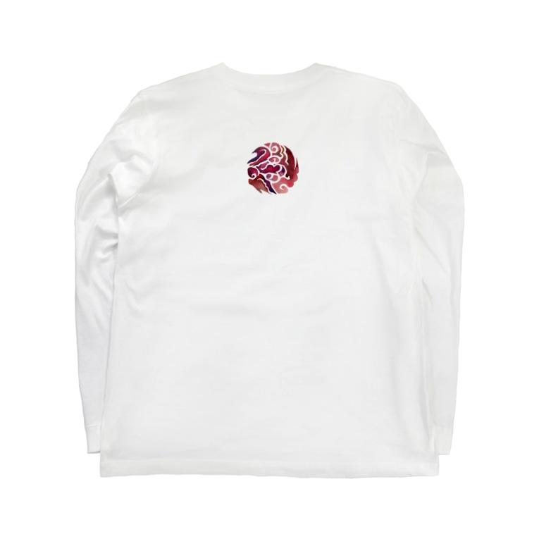 wamiの八雲立つ赤其弐 Long sleeve T-shirts
