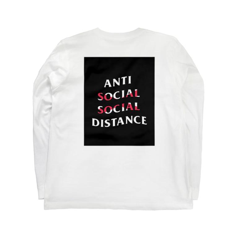 SH-のAnti social social distance  Long sleeve T-shirts