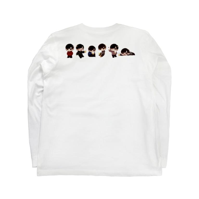 あるこほりっくのちびある's Long Sleeve T-Shirtの裏面