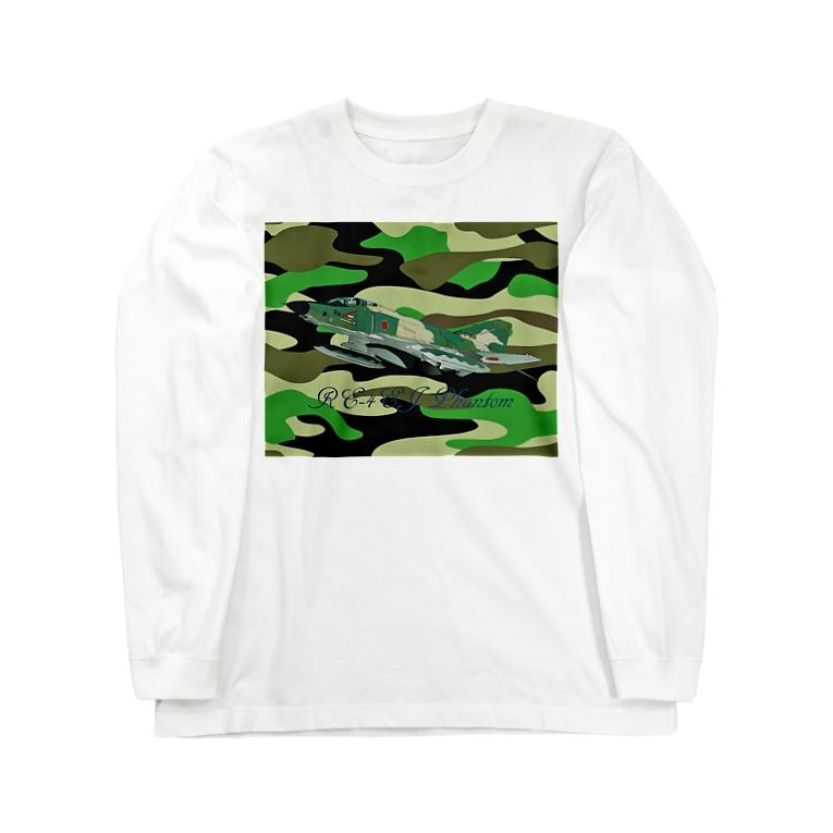 NOMAD-LAB The shopの RF-4EJ phantom Long sleeve T-shirts