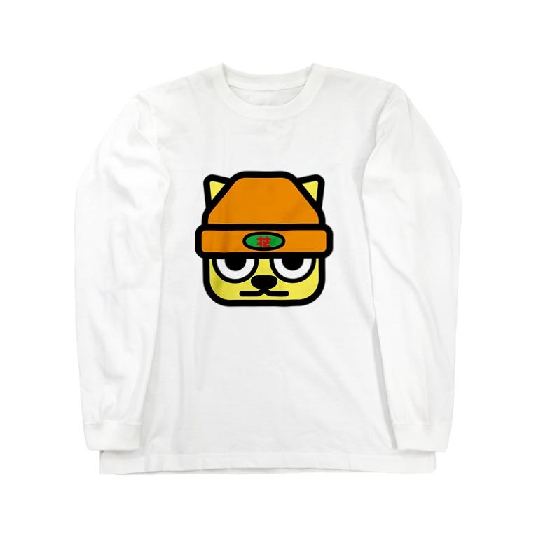 原田専門家のパ紋No.3272 花 Long sleeve T-shirts