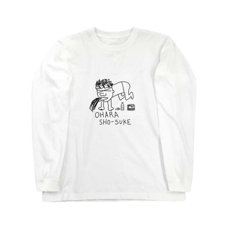 dasakuの小原さん Long sleeve T-shirts