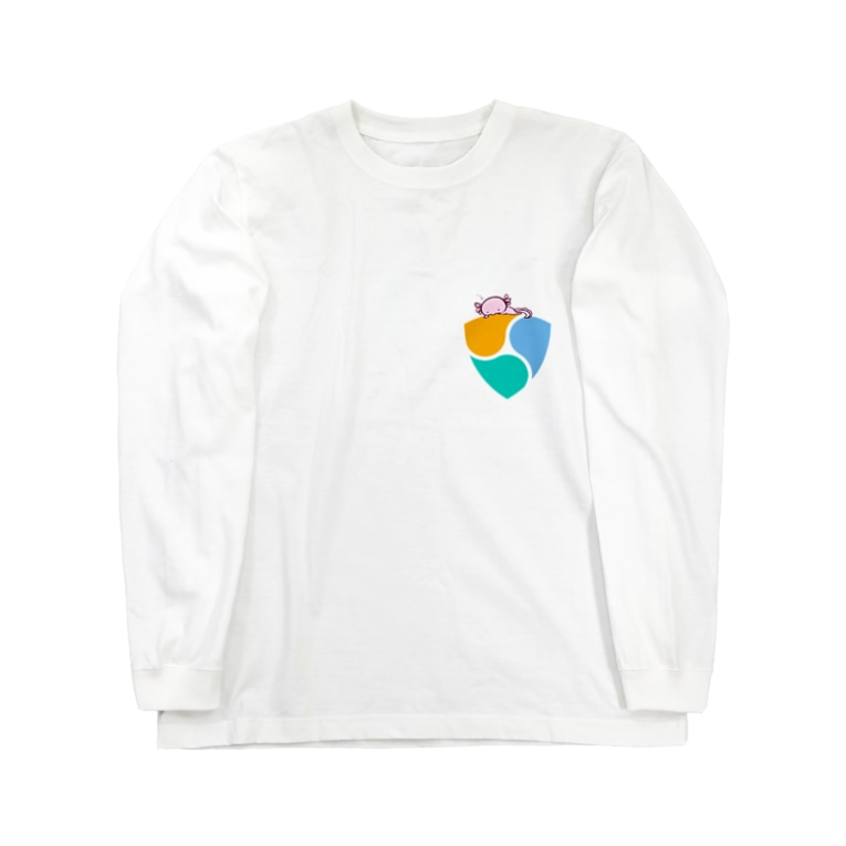 スタジオ嘉凰のnemおネム Long sleeve T-shirts