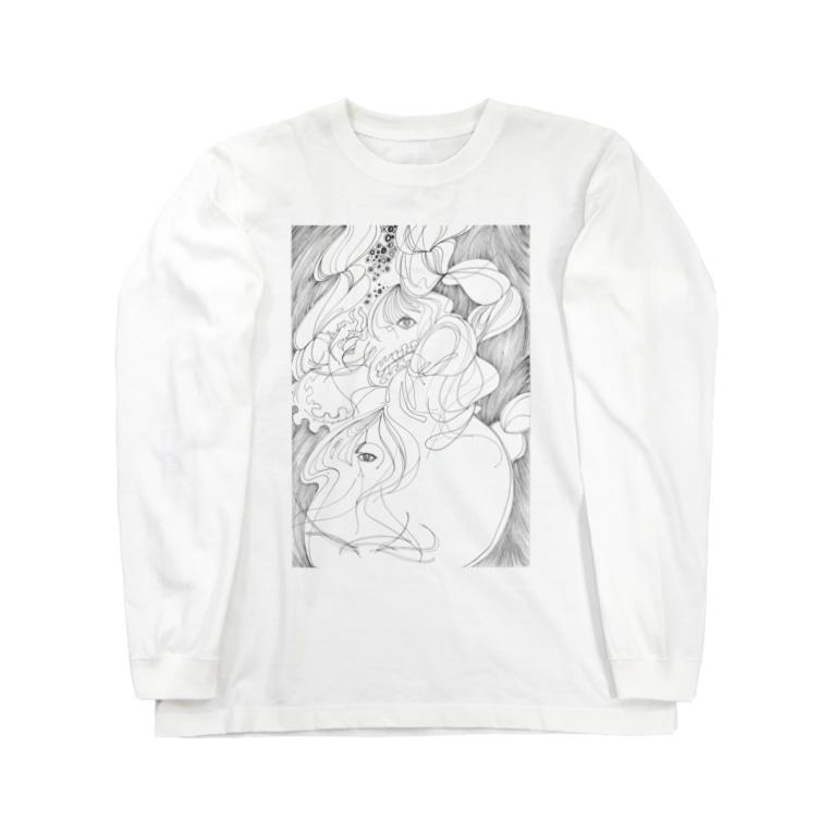物部書房の『白紙のわたし』 Long sleeve T-shirts