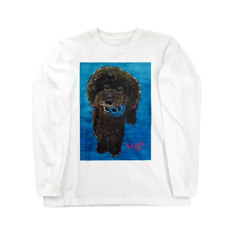 Onlywanのおやつください! Long sleeve T-shirts