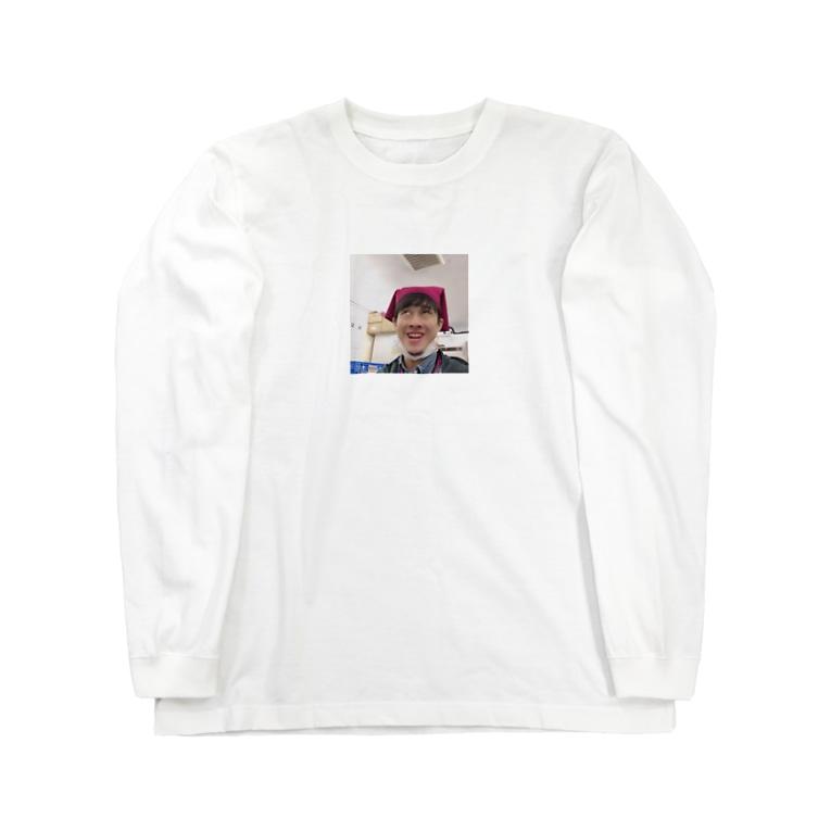 yudai_boy_d_44の平野智也専用iPhoneケース Long sleeve T-shirts
