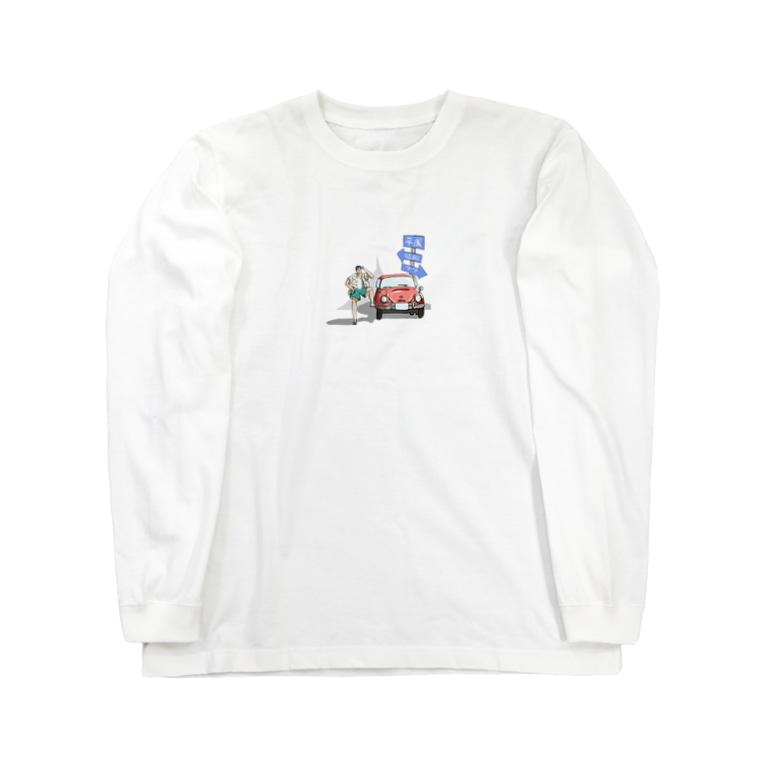 tosboy_artのタイムトラベラー Long sleeve T-shirts