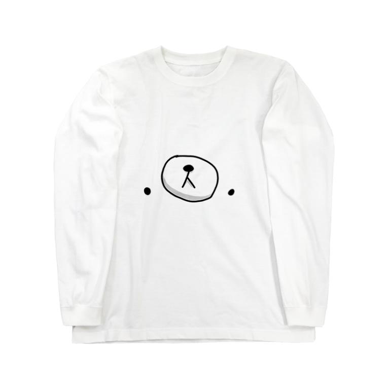 クマ・サピエンスのクマ・サピエンス Long sleeve T-shirts