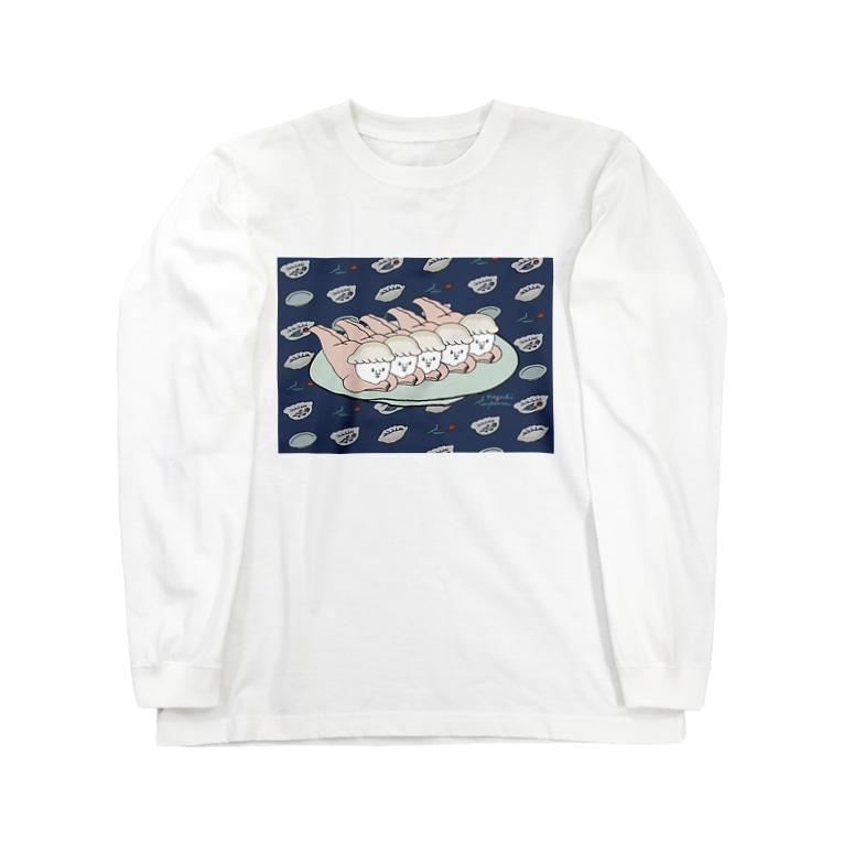 ナガキパーマのチャオズズ Long sleeve T-shirts