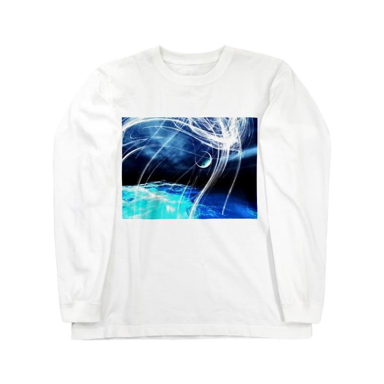 0608knynの幻想プリント Long sleeve T-shirts
