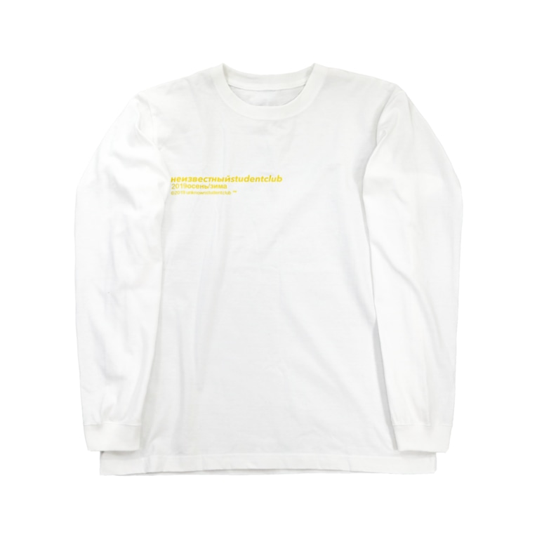 unknown student clubのロングスリーブT Long sleeve T-shirts