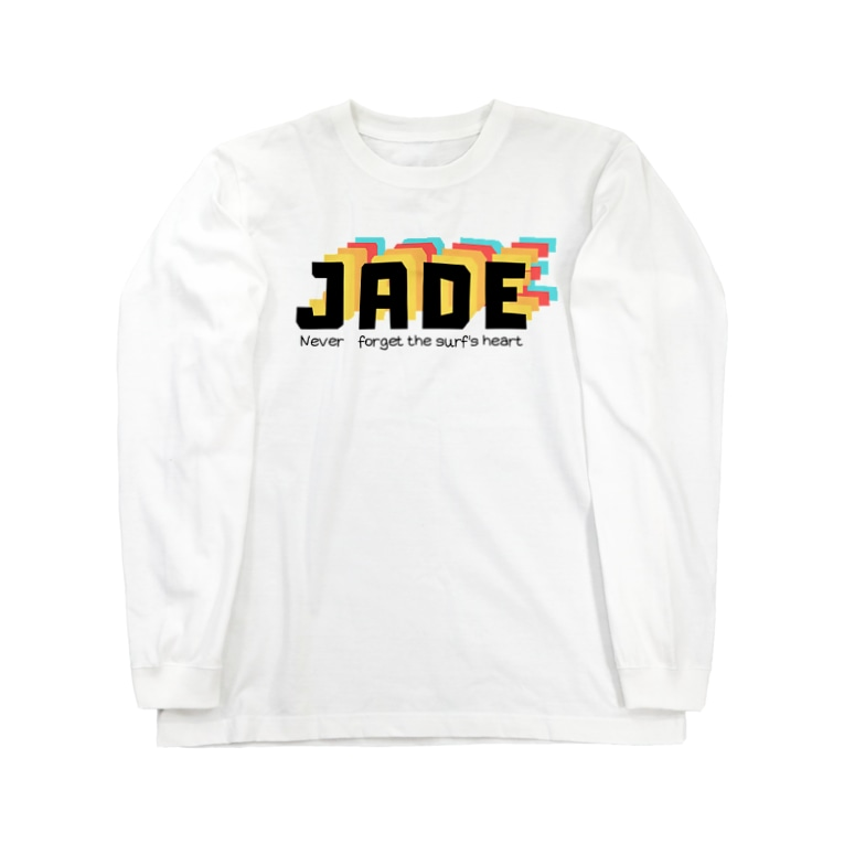 𝙅 𝘼 𝘿 𝙀 のJADE original ロングT Shirt Long sleeve T-shirts