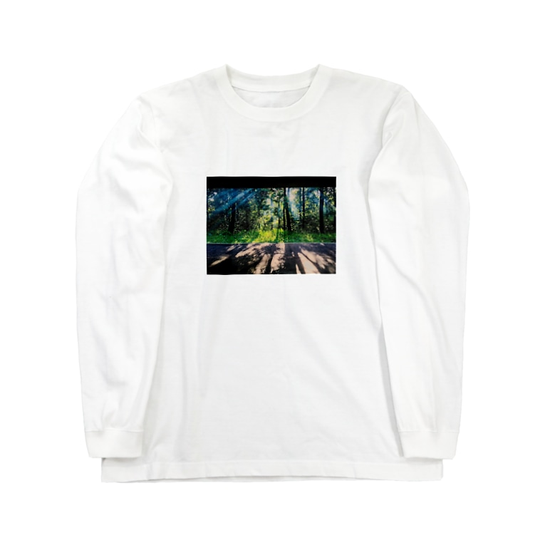 cozcozのもや Long sleeve T-shirts