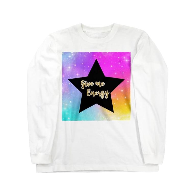 DOLUXCHIC RAYLOのGive me energy Star Long sleeve T-shirts