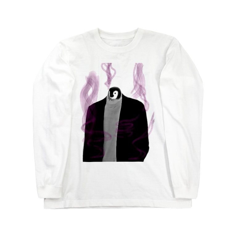 TALE  オンラインのイカついペンギン Long sleeve T-shirts