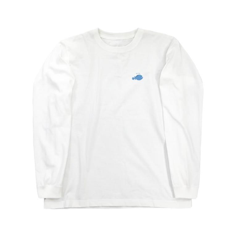 JP DRUGのお魚さん Long sleeve T-shirts