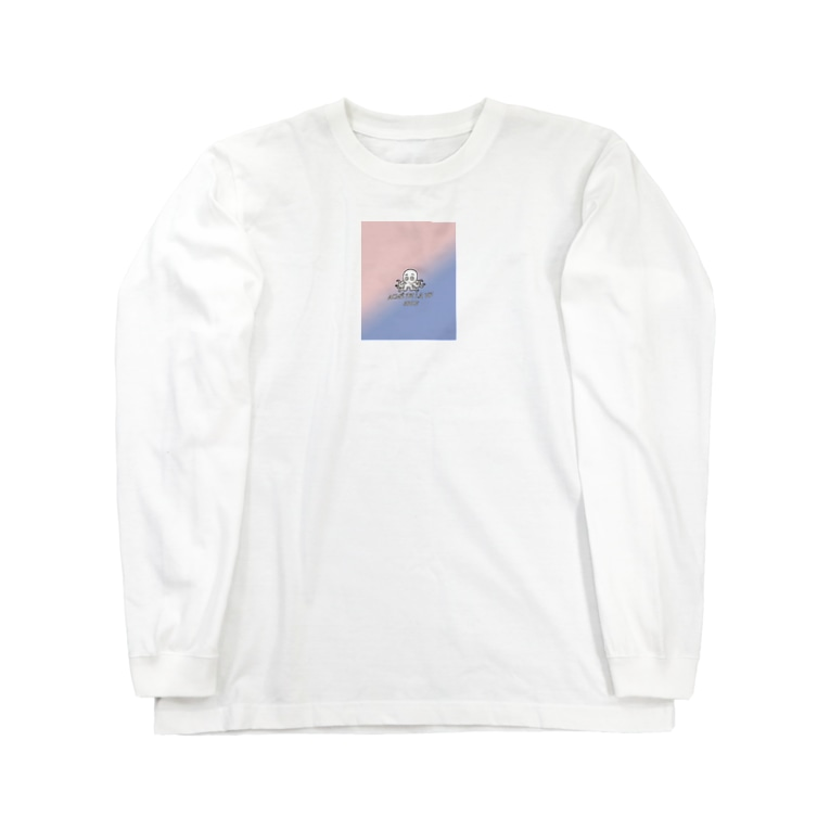 Yoon-1004-95のたこ Long sleeve T-shirts