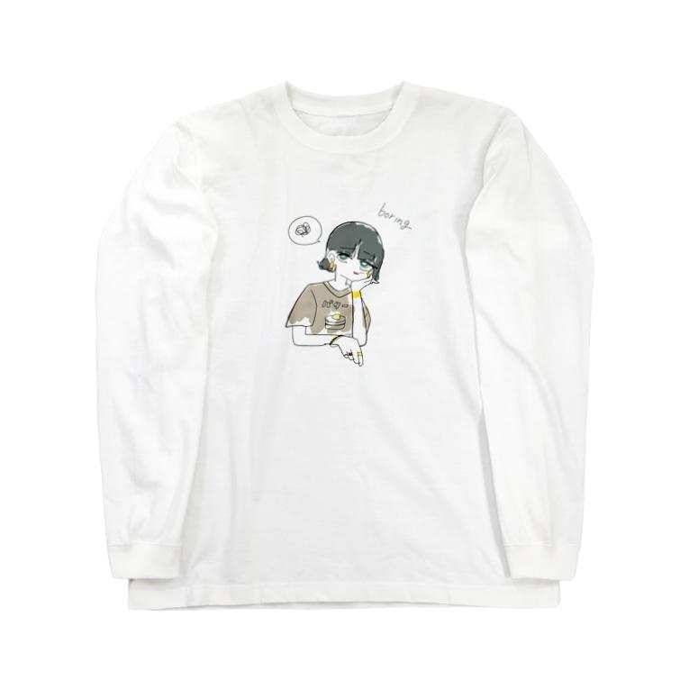 Hiysのバターカップ オリジナル Long sleeve T-shirts